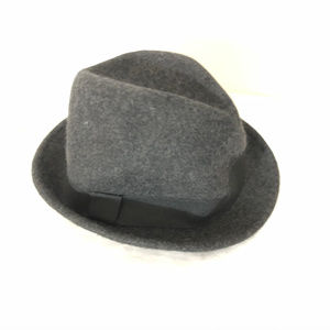 Goodfellow & Co Mens Wool Fedora Wool Gray L/XL